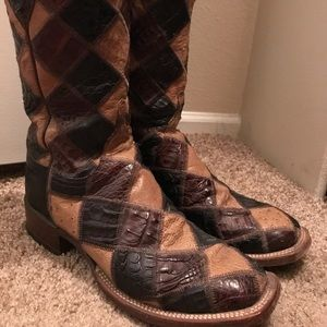 Lucchese Exotic Patchworks